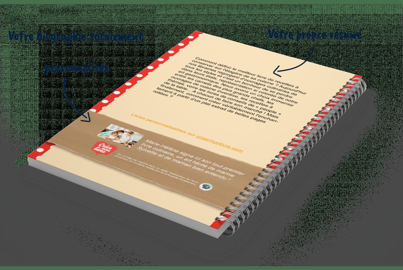 Créer son livre de recettes