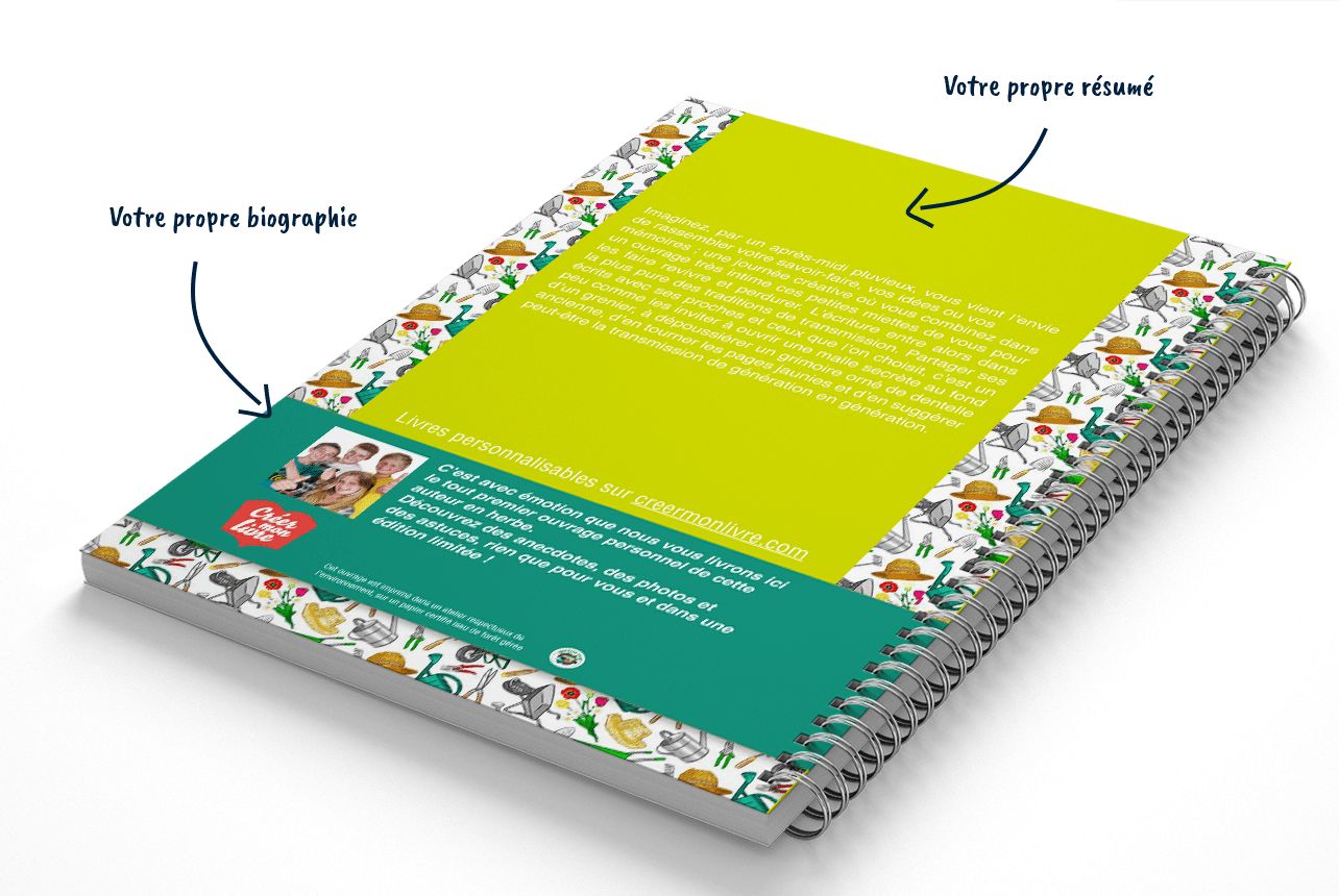 Créer le livre de son jardin
