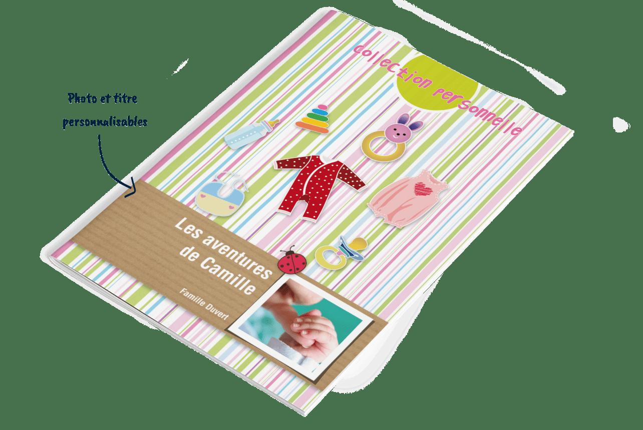 Livre de naissance personnalisé